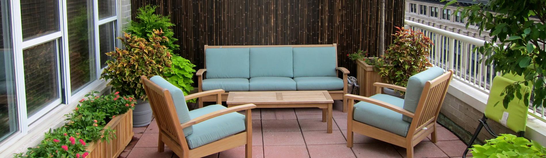 Custom furnishings and garden decor in NYC